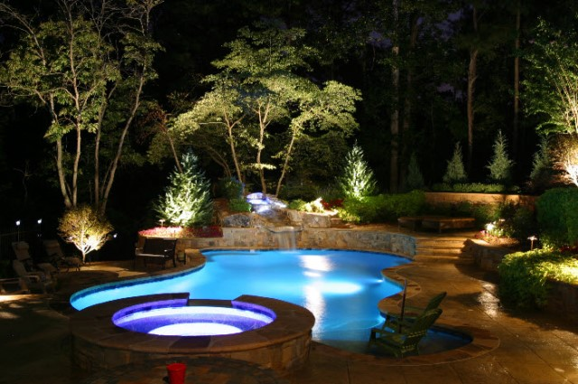 Landscape lighting landscaping company syracuse ny lighting options then there is only one company to call for a design consultation or ideas on what enhancements will work in your yard call landscapes aloadofball Image collections